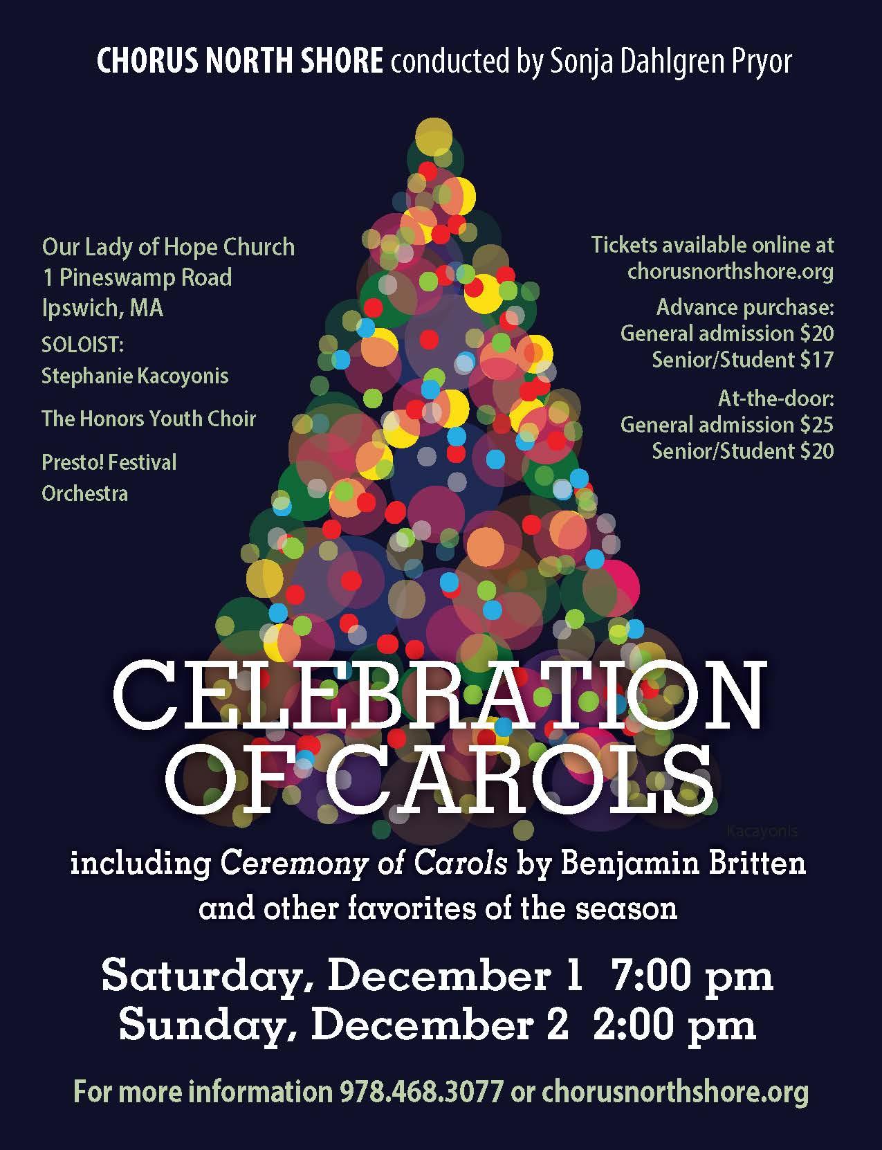 Celebration of Carols