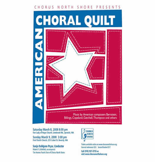 American Choral Quilt
